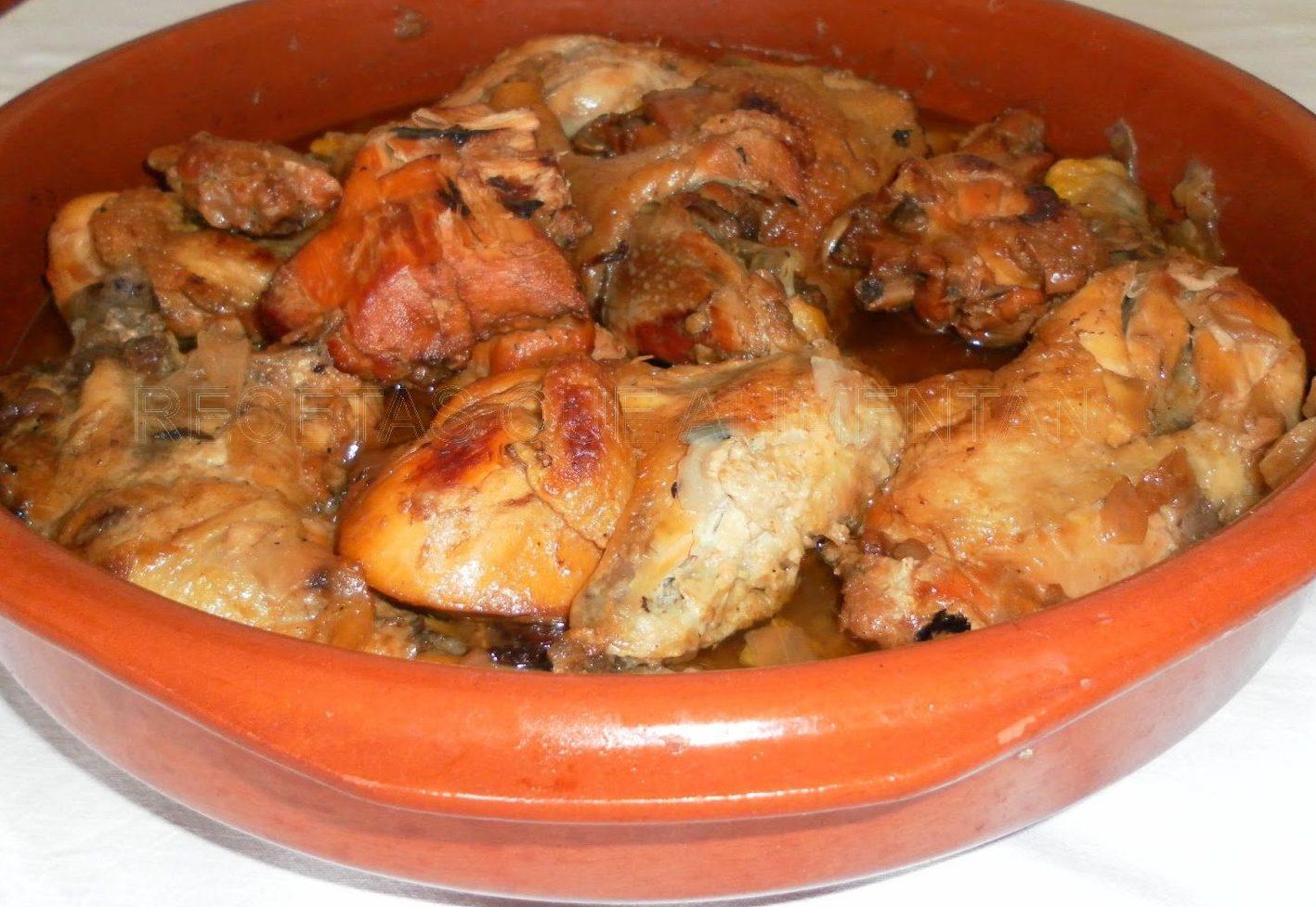 Pollo de corral guisado para llevar en Burgos